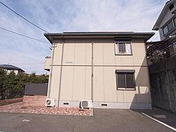 広島県安芸郡熊野町川角4丁目の賃貸アパートの外観