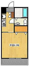 グリーンモール[303号室]の間取り
