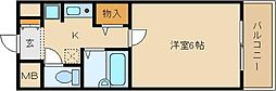 M・SUNRISE(エム・サンライズ)[307号室]の間取り