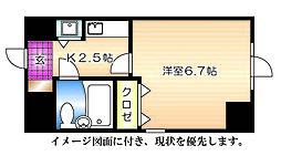 ダイアパレス横川公園[502号室]の間取り