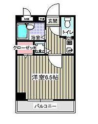 フェースタワーIII[402号室]の間取り