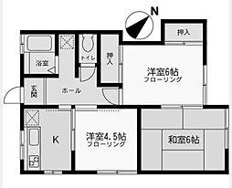 NKハイツ2[2階]の間取り