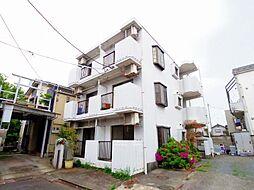 東京都東大和市高木3丁目の賃貸マンションの外観