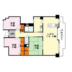 リノベーション〜レジデンス草津〜[3階]の間取り