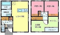 [一戸建] 静岡県駿東郡長泉町本宿 の賃貸【/】の間取り