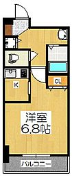 アスヴェル京都御所前II[5階]の間取り