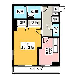 第2中央ビルディング[2階]の間取り
