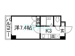Sakura Residence[4階]の間取り
