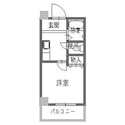 中井マンション[2階]の間取り