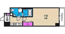 プラディオ徳庵セレニテ[4階]の間取り