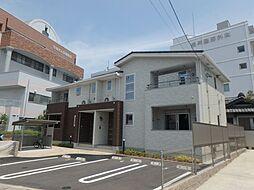 愛知県岡崎市矢作町字尊所の賃貸アパートの外観