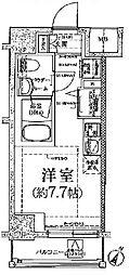クラリッサ川崎グランデ[12階]の間取り