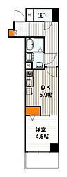 ベラジオ京都西大路II[3階]の間取り