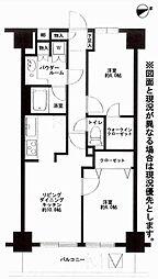 日神パレステージ東新宿イーストフォート[702号室号室]の間取り