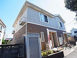 千葉県野田市中野台の賃貸アパートの外観