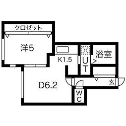 仮)北5条西10丁目マンション[2階]の間取り