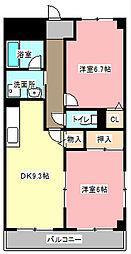 ピース1[2階]の間取り