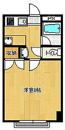 東千葉ハイリビング六番館[305号室]の間取り