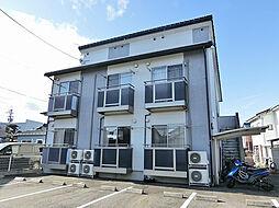 滋賀県甲賀市水口町東林口の賃貸アパートの外観