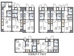 レオパレス宇田川町マンション[2階]の間取り