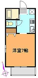 メゾン・ド・畠[2階]の間取り