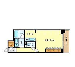 アクシオ梅田東[12階]の間取り