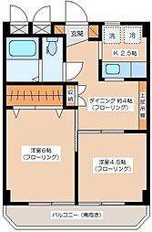 代田フラッツ[407号室]の間取り