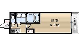 サムティ天王寺EAST[7階]の間取り