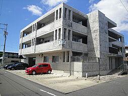 愛媛県松山市居相4丁目の賃貸マンションの外観