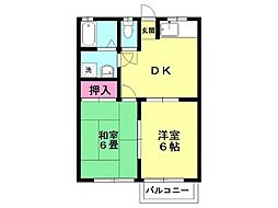 サングリーン和田山102[202号室号室]の間取り