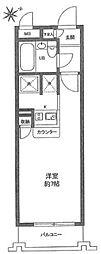 ワコーレ西新井II[208号室]の間取り