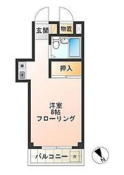 東京都世田谷区船橋1丁目の賃貸マンションの間取り