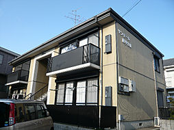 大阪府高槻市南平台1丁目の賃貸アパートの外観