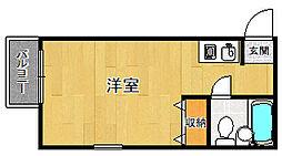 ダイドーメゾン塚口2[305号室]の間取り