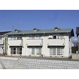 ハイツエトランゼみこと川 A棟[1階]の外観