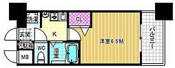 エステムコート大阪城北天満の杜[12階]の間取り