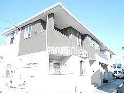 静岡県浜松市中区高丘北4の賃貸アパートの外観