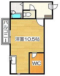 エクレールスガワ[2階]の間取り