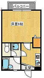 キャッスル・ナカイ[2階]の間取り