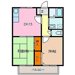エーレ67[10号室号室]の間取り