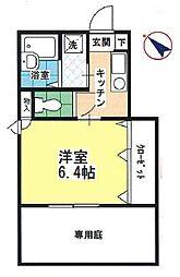 クレールKOBAYASHI[101号室]の間取り