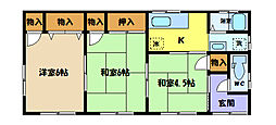 [一戸建] 埼玉県さいたま市中央区上峰4丁目 の賃貸【埼玉県 / さいたま市中央区】の間取り