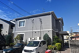 大阪府柏原市法善寺2丁目の賃貸アパートの外観
