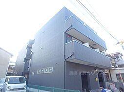 大阪府大阪市東住吉区住道矢田1の賃貸アパートの外観