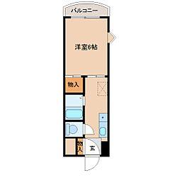 第二長島ビル[2階]の間取り