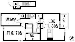 グランディオーソ[2階]の間取り