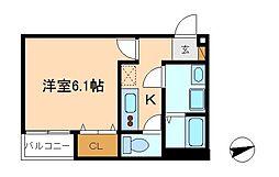 reos馬橋03[2階]の間取り