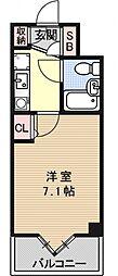 デトムワン三条通[604号室号室]の間取り