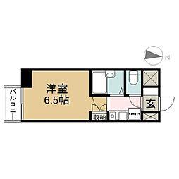 SKYマンション八田[5階]の間取り