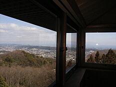 2階リビングからの景色